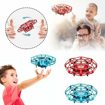 AU21.11 • Buy Mini Drone UFO Infrared Sensor Induction Aircraft Flying Toy For Kids @I