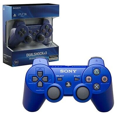 NEW SONY PS3 Wireless DualShock 3  Controller For PlayStation 3 • 14.99£