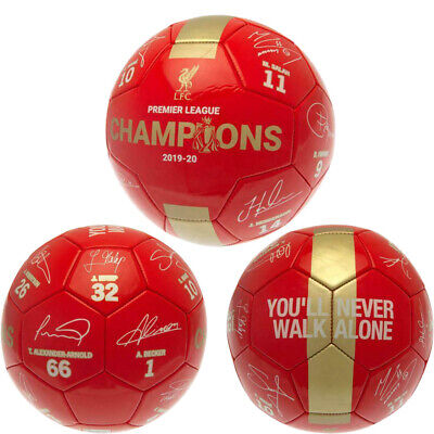 Liverpool FC Official Merchandise Football Ball CHRISTMAS BIRTHDAY GIFT Size 5 • 11.97£