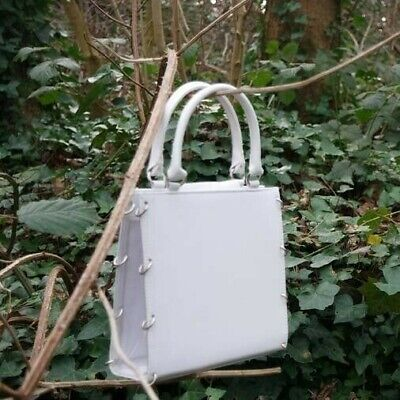 Paco Rabanne Vintage White Bag With PVC Sides Y2k 00s 90s  • 14.99£