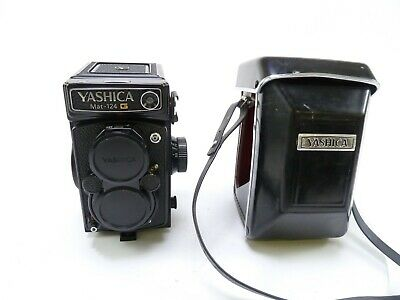 Yashica Mat 124G Twin Lens Reflex Camera System W/case And In EC, No Meter • 222.24£
