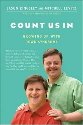 Count Us In : Growing Up With Down Syndrome Paperback Jason Kingsley • 3.84£