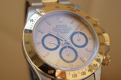 $ CDN18151.87 • Buy Rolex 16523 Daytona Steel 18K Yellow Gold Zenith Chronograph Auto Men's Watch
