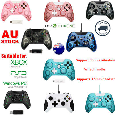 AU52 • Buy New For Microsoft Xbox One Wireless/Wired Game Controller Gamepad PC Windows AU