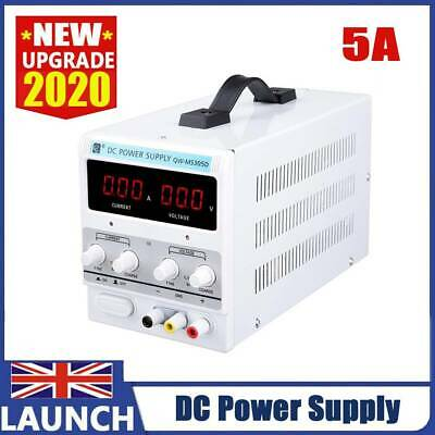 Adjustable Power Supply 30v 5a Switching Dc Digital Led Precision Lab Variable • 35.99£