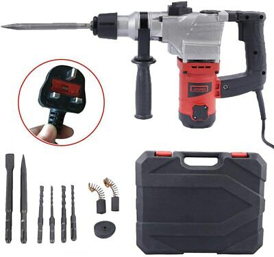1050W Electric Hammer Breaker Demolition Jack Hammer Drill Concrete Power Tool • 55.98£