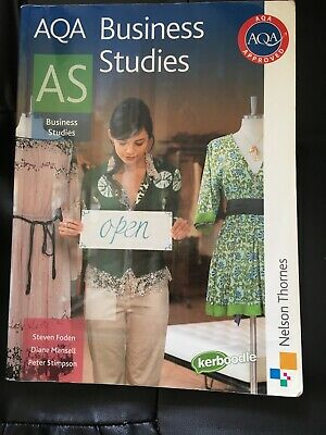 AQA Business Studies AS Level Nelson Thornes • 0.99£