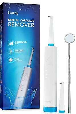 Ultrasonic Plaque Remover For Teeth ....Complete Cleaning Kit ....FREE Shipping! • 7.88£
