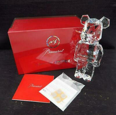$1990 • Buy 【Baccarat】 BE@RBRICK Bearbrick POLYGON STANDING  Fragment Design Crystal Glass
