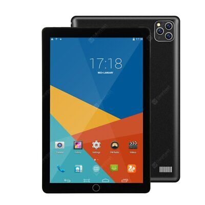 2020 New Original 10.1 Inch 4GB+64GB Octa Core Tablet Pc Android 9.0 Google • 115.55£