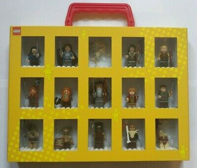 NEW LEGO Lord Of The Rings Hobbit 15 Minifigure Collection With Case Rare LOTR • 164.99£