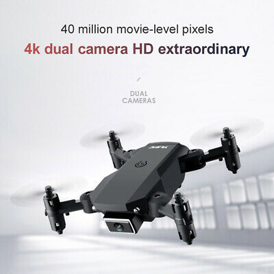 AU28.70 • Buy RC Drone 4K HD Wide Angle Real-Time Camera Wifi Foldable FPV Live Quadcopter AU