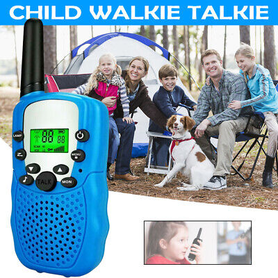 $ CDN22.78 • Buy 2PCS Kids Walkie Talkies 2 Way Radio Long Range UHF 467MHz 22CH Outdoor Game Toy