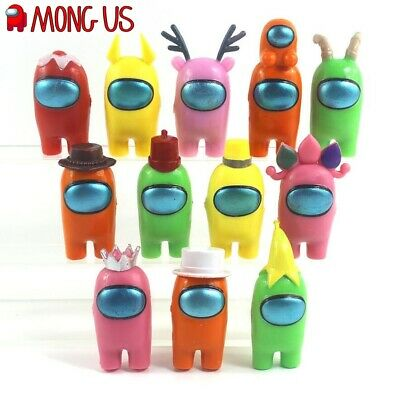 12pcs Among Us Action Figures Collection PVC Dolls Game Toys Kids Xmas Gifts-UK • 12.29£