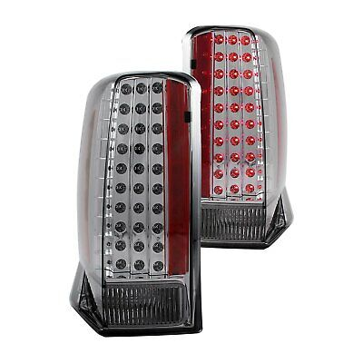 $277.64 • Buy For Cadillac Escalade 2002-2006 Anzo 321221 Chrome/Smoke LED Tail Lights