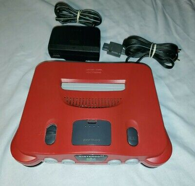 $ CDN129.99 • Buy Custom Matte Red N64 Console With Cords
