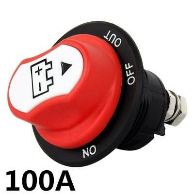 AU18.69 • Buy 100a Mini Panel Mount Battery Isolator Kill Cut-off Switch Kit 12-32v Car Marine