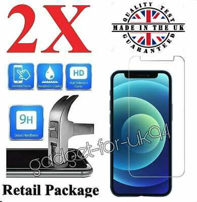 Tempered Glass Screen Protector Screen Saver For IPhone 6,7PLUS X 11 12 XR 2021 • 2.49£