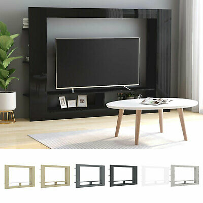 Living Room Furniture TV Unit Display Stand Wall Mounted Cupboard Shelf Cabinet • 92.19£