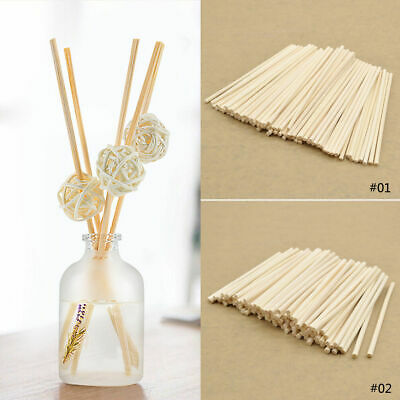 AU3.50 • Buy 100PCS Rattan Reed Sticks Fragrance Oil Diffuser Replacement Refill Aroma Decor
