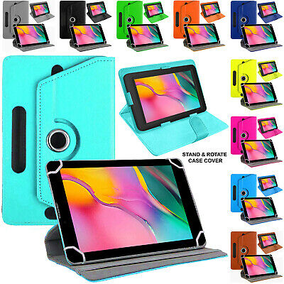 £5.24 • Buy Universal Case For Samsung Galaxy Tablets 10.1  Swivel Stand Cover PU Leather