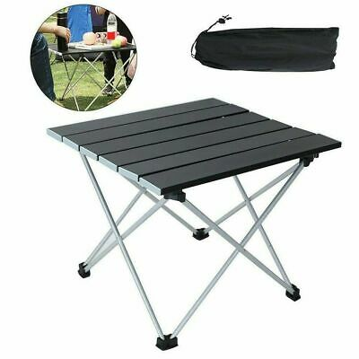 £18.95 • Buy Folding Camping Table Lightweight Portable Outdoor Aluminium Frame With Bag Uk