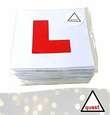 Magnetic L Plates 2 Pack • 5£