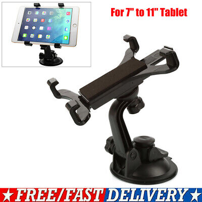 £8.75 • Buy Universal 7  To 11  Car Suction Mount 360° Holder For IPad Samsung Galaxy Tablet