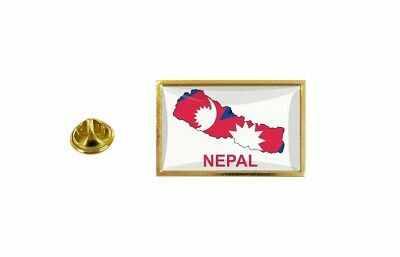 Pins Pin's Flag National Badge Map Hat Country NEP Nepal • 3.60£