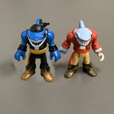 £6.99 • Buy 2X Fisher-Price Imaginext DC Super Friends Pirate Shark Action Figure Doll Toy