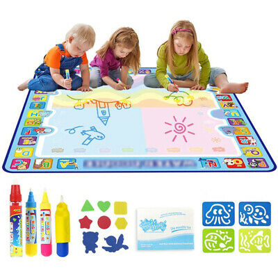 £16.79 • Buy Doodle Water Painting Drawing Mat Large Writing Board Magic Pen Kids Toy
