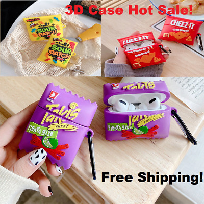 $ CDN10.11 • Buy Cute 3D Soft Silicon Cover Wireless Bluetooth Earphone Case For AirPods 1 2 Pro
