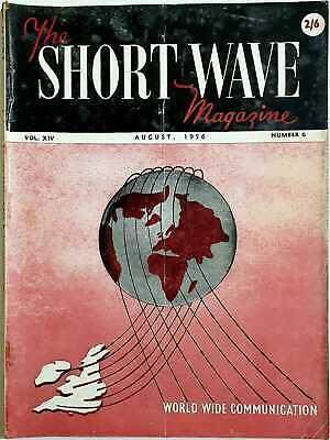 £2.99 • Buy THE SHORT WAVE MAGAZINE, August 1956
