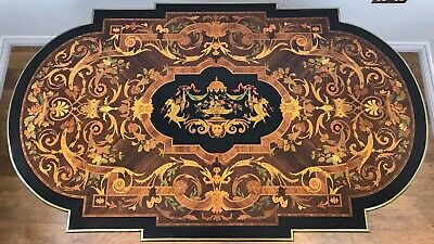 A Napoleon III Kingwood Marquetry Centre Table • 2,850£