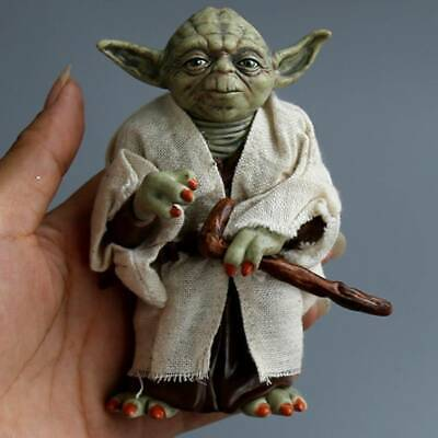 Star Wars Master Yoda Jedi Action Figures Collectible For Kids Doll Gift Toys UK • 12.15£