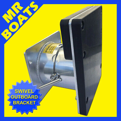 AU395 • Buy SWIVEL OUTBOARD MOTOR Bracket 4 Inflatable Tender Boat <9.8hp Outboard FREE POST