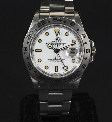 $ CDN17880.10 • Buy Rolex Explorer II 16550 Stainless Steel White Dial 40mm Automatic Men's Watch