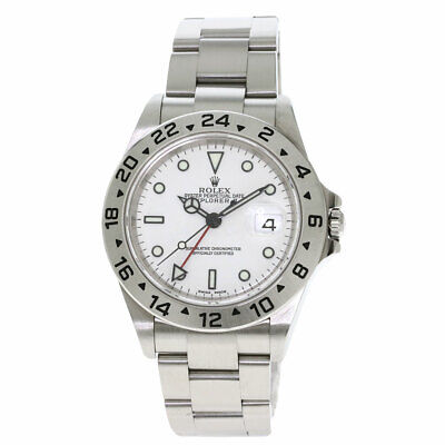 $ CDN10460.61 • Buy ROLEX Explorer 2 Watches 16570T Stainless Steel/Stainless Steel Mens