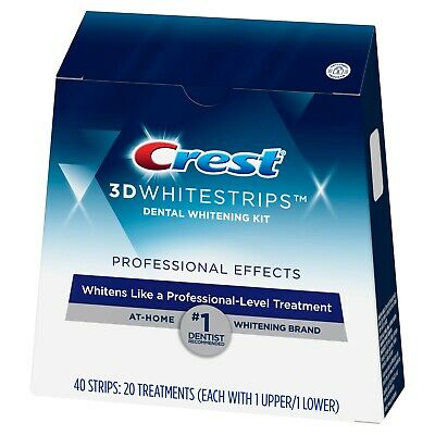 AU63.16 • Buy Crest 3D Whitestrips Professional Effects Teeth Whitening Kit ,.-- 40 Strips