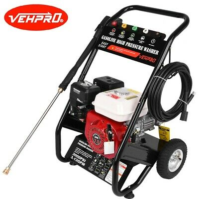 £239.98 • Buy VEHPRO Petrol Pressure Washer - 3000PSI / 240BAR - POWER JET CLEANER With HOSE