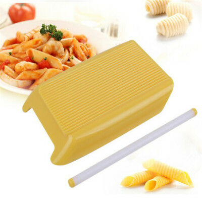 AU7.39 • Buy Plastic Pasta Board Spaghetti Pasta Gnocchi Maker Rolling Pin Kitchen Tool JD