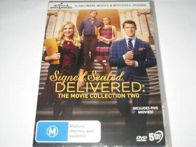 AU44.99 • Buy SIGNED SEALED DELIVERED The Movie Collection 2 5 Movies DVD R4 NEW/SEALED