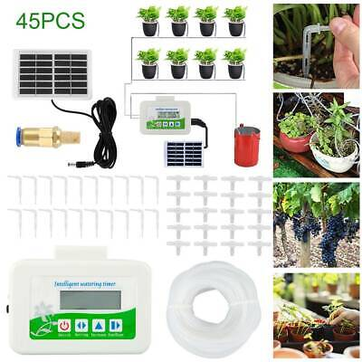 Automatic Holiday Plant Watering System Irrigation Water Drip Kit Watering Timer • 42.39£