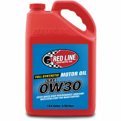 AU63.08 • Buy Red Line Oil 11115 Synthetic Motor Oil 0W30 1 Gallon