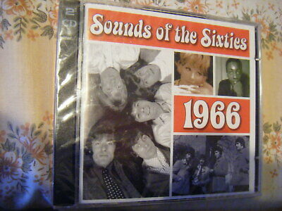 Sounds Of The Sixties - 1966 [TIME LIFE] 2cds  ***NEW SEALED*** • 12.99£