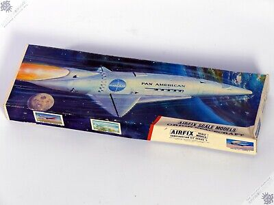 Airfix Marusan Orion Spaceship 2001 A Space Odyssey Panam Vintage Model Kit Toy • 350£