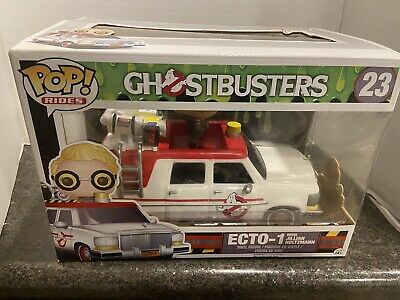 Funko POP Rides: Ghostbusters 2016 Ecto-1 Action Figure Jillian Holtzmann CHOP • 12.87£