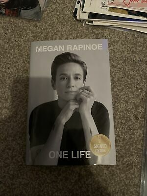 £49.56 • Buy SIGNED Hardcover MEGAN RAPINOE - ONE LIFE Book 1st Edition Autographed NEW!