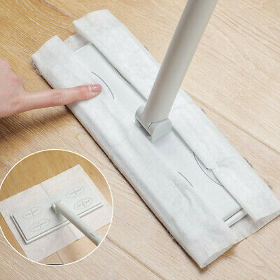 Wood Tile Laminate Floor Cleaner Static Cleaning Mop W10PC Disposable Dry Wipes • 10.99£