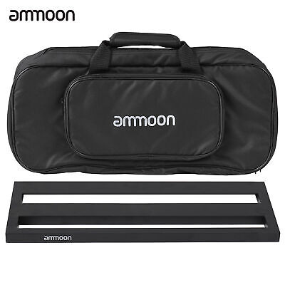 $ CDN77.92 • Buy Ammoon Guitar Pedal Board Alloy With Carrying Bag Tapes Straps V7V2